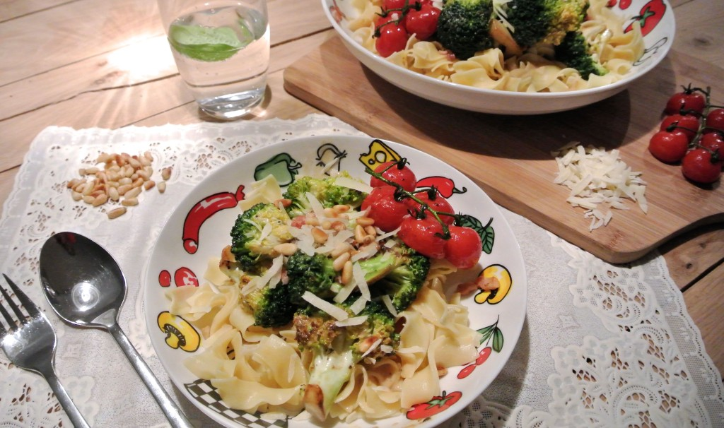 pasta broccoli roomsaus
