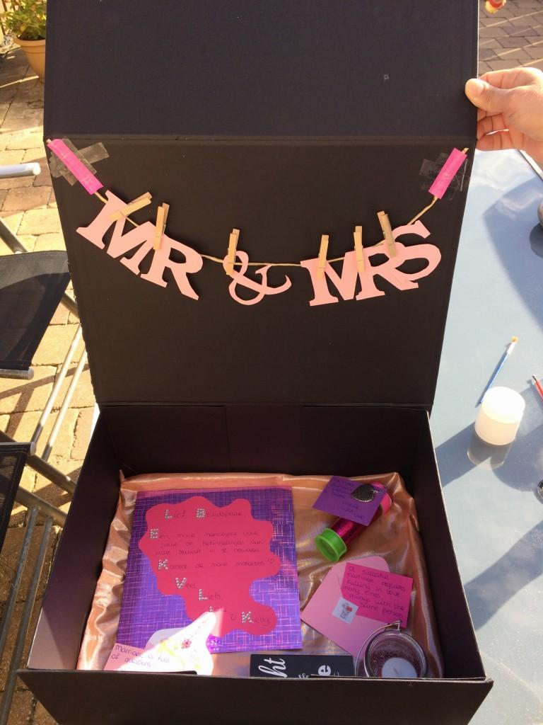 memory box huwelijk
