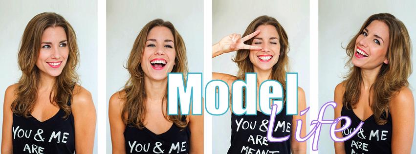 leven van een model