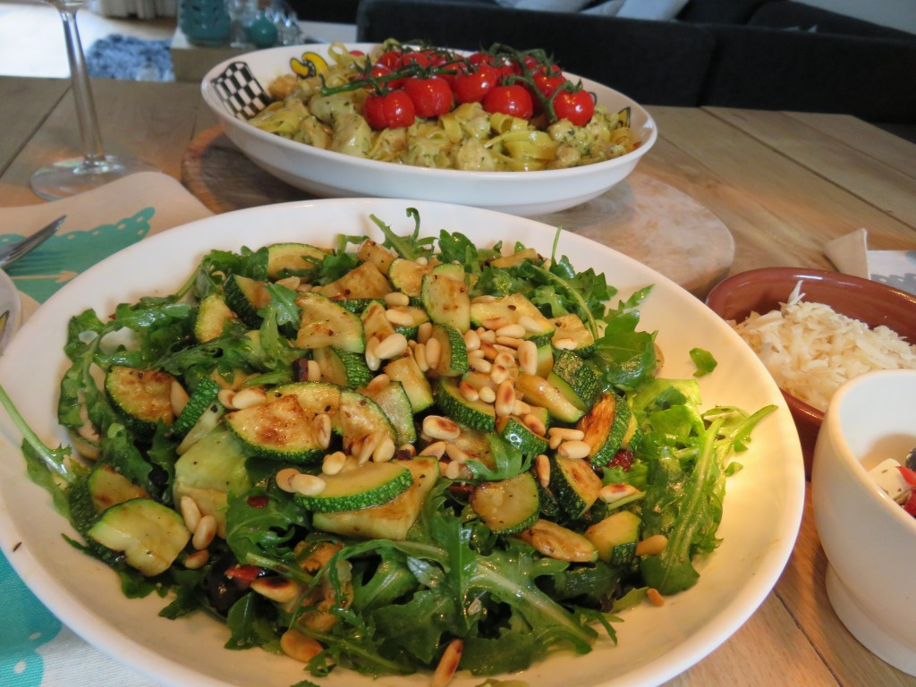 salade met courgette