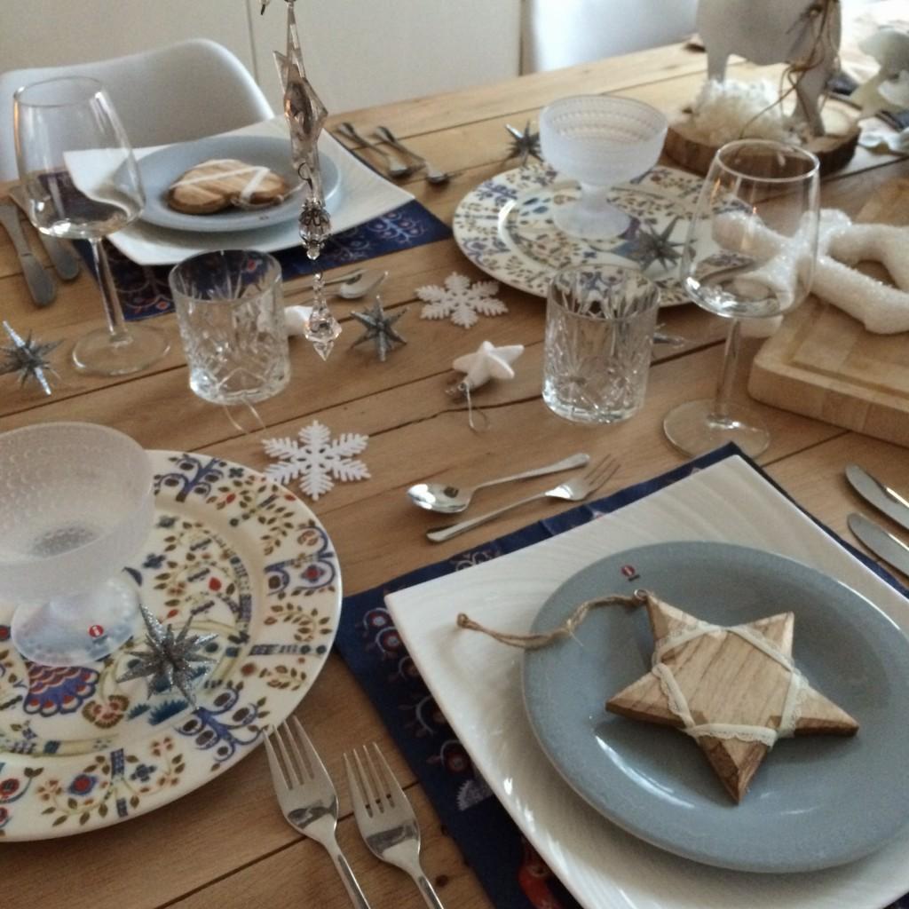 Tafel gedekt met Iittala servies