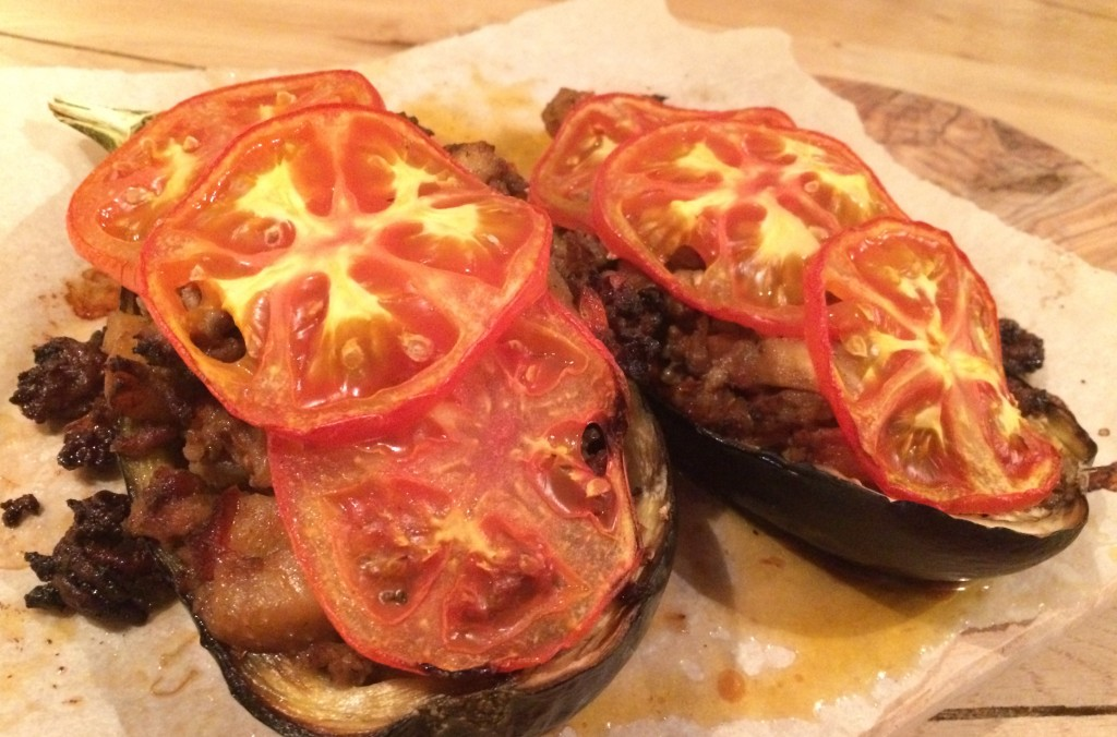 gevulde aubergine jamie oliver