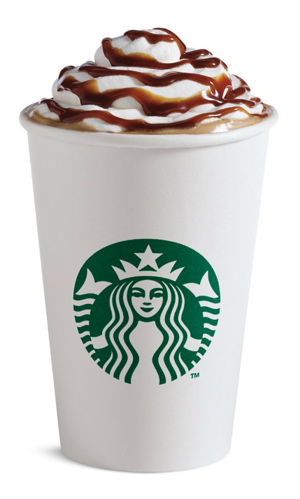 Starbucks Burnt Caramel Latte - 1 (2)