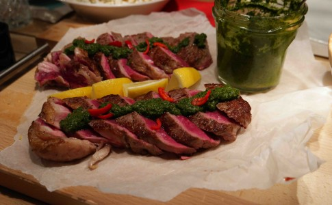 rib-eye chimichurri
