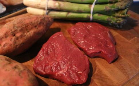 biefstuk in rodewijnsaus