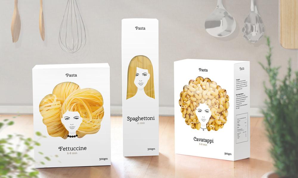 verpakking pasta