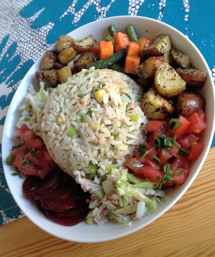 Marokkaanse rijstsalade