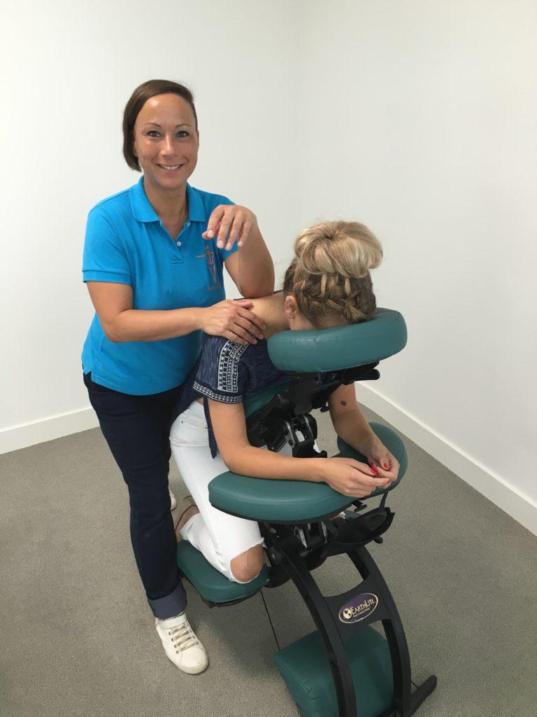 massage op werk