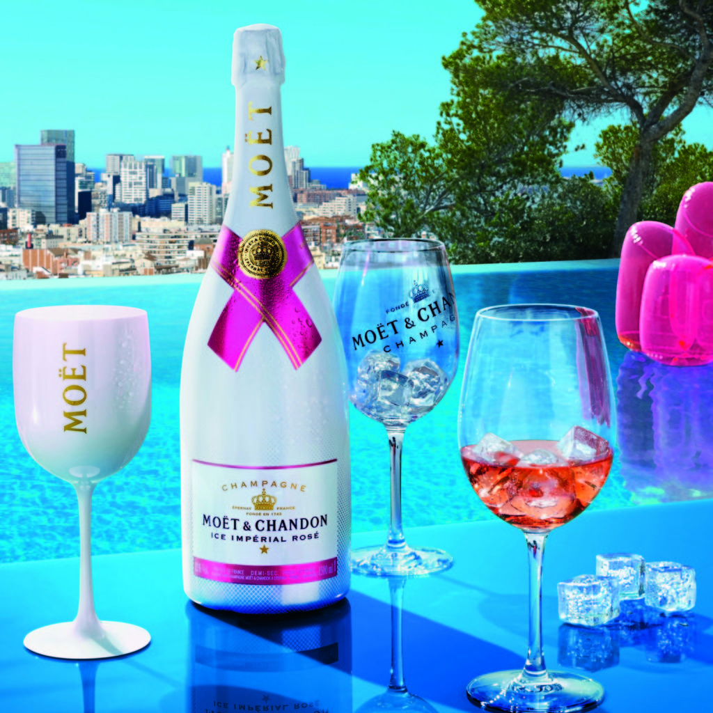 moet imperial ice rose