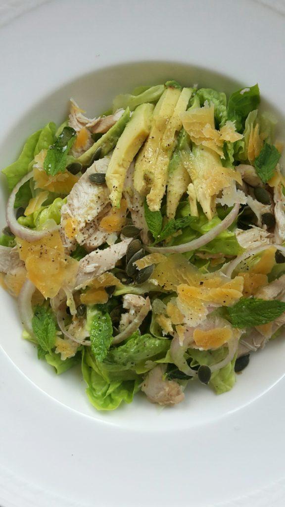 Salade met avocado