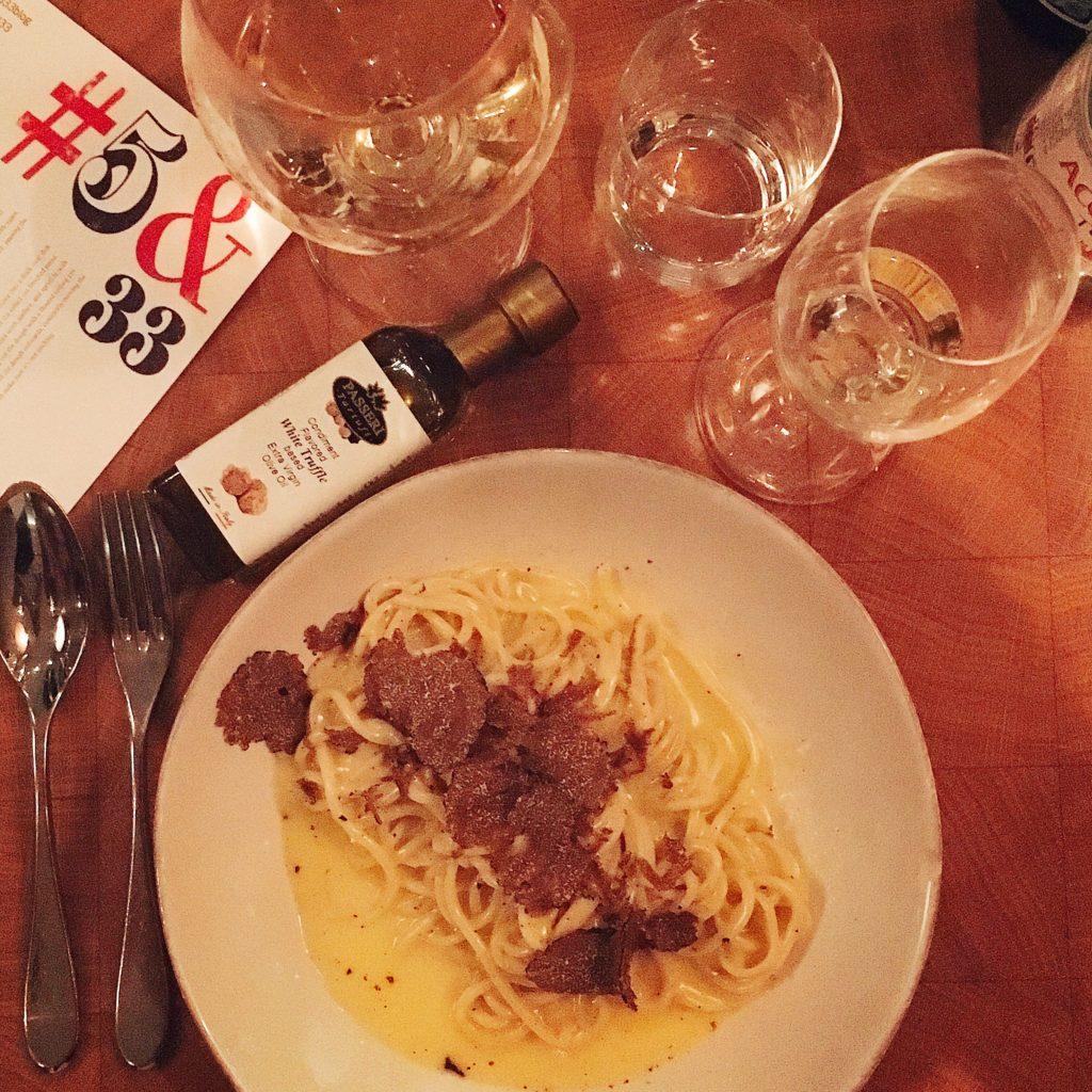 truffel spaghetti