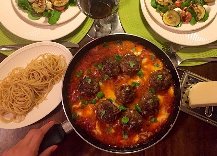 italiaanse gehaktballen