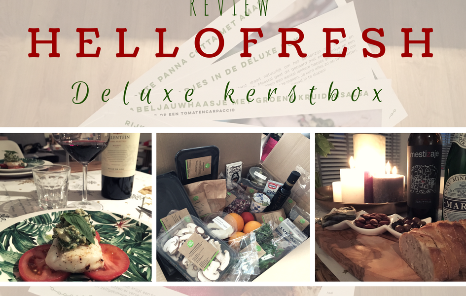 hello fresh kerstbox