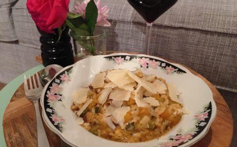 risotto met pompoen