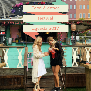 Food & dance festival agenda