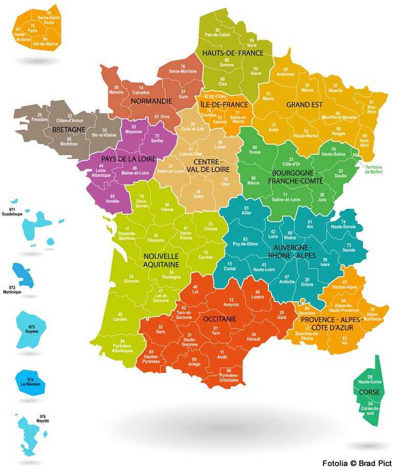 Dit Is Hoe Het Precies Zit Met De Franse Regio S Departementen En Wijnstreken Goodfoodlove