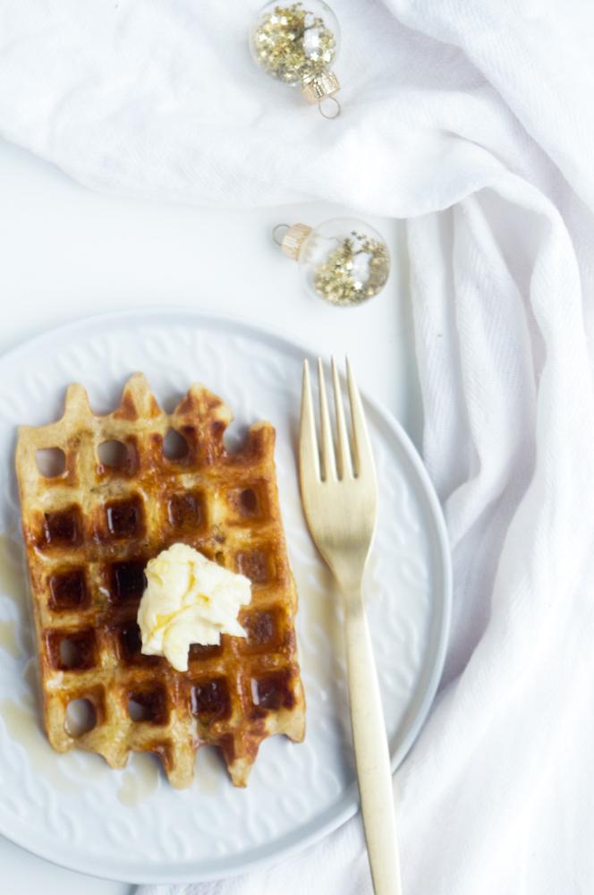 Gingerbread wafels
