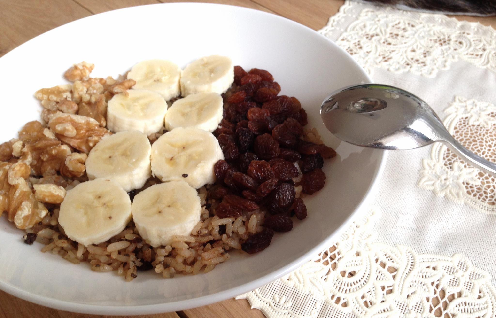 rijst ontbijt