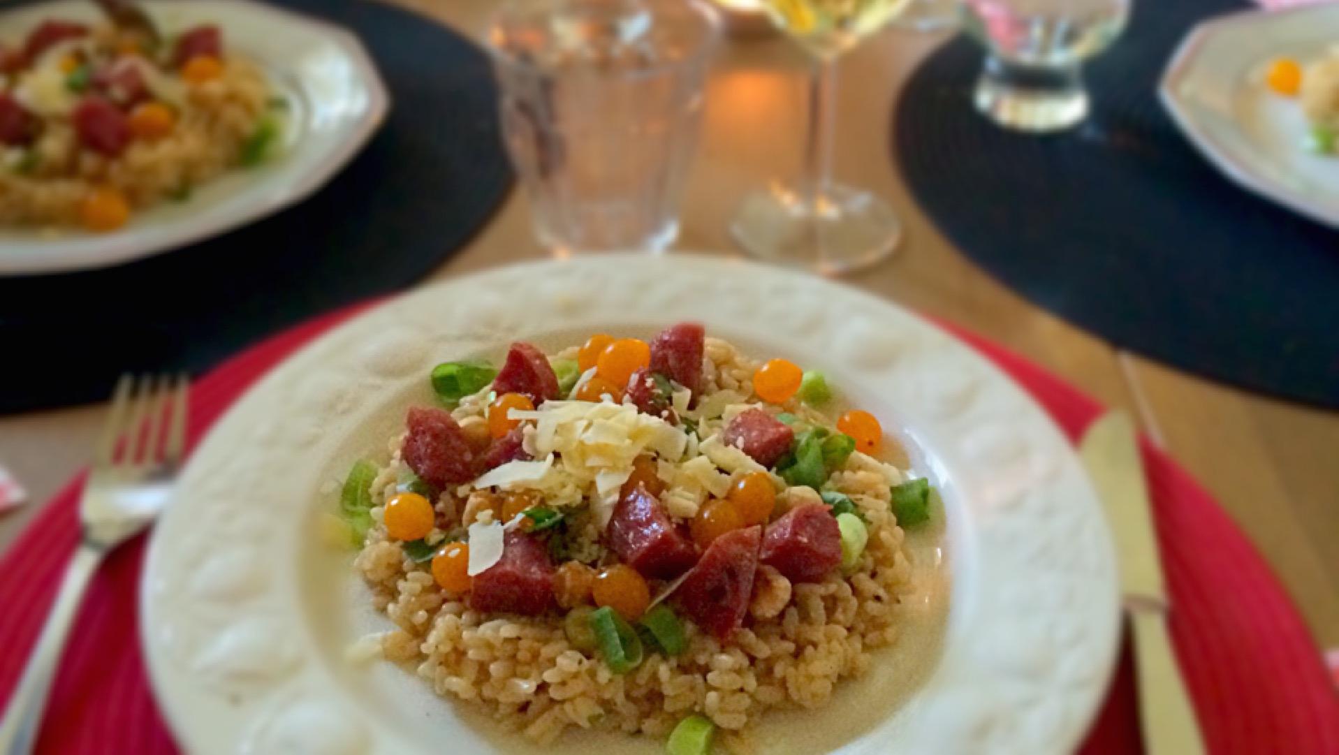 risotto met truffel