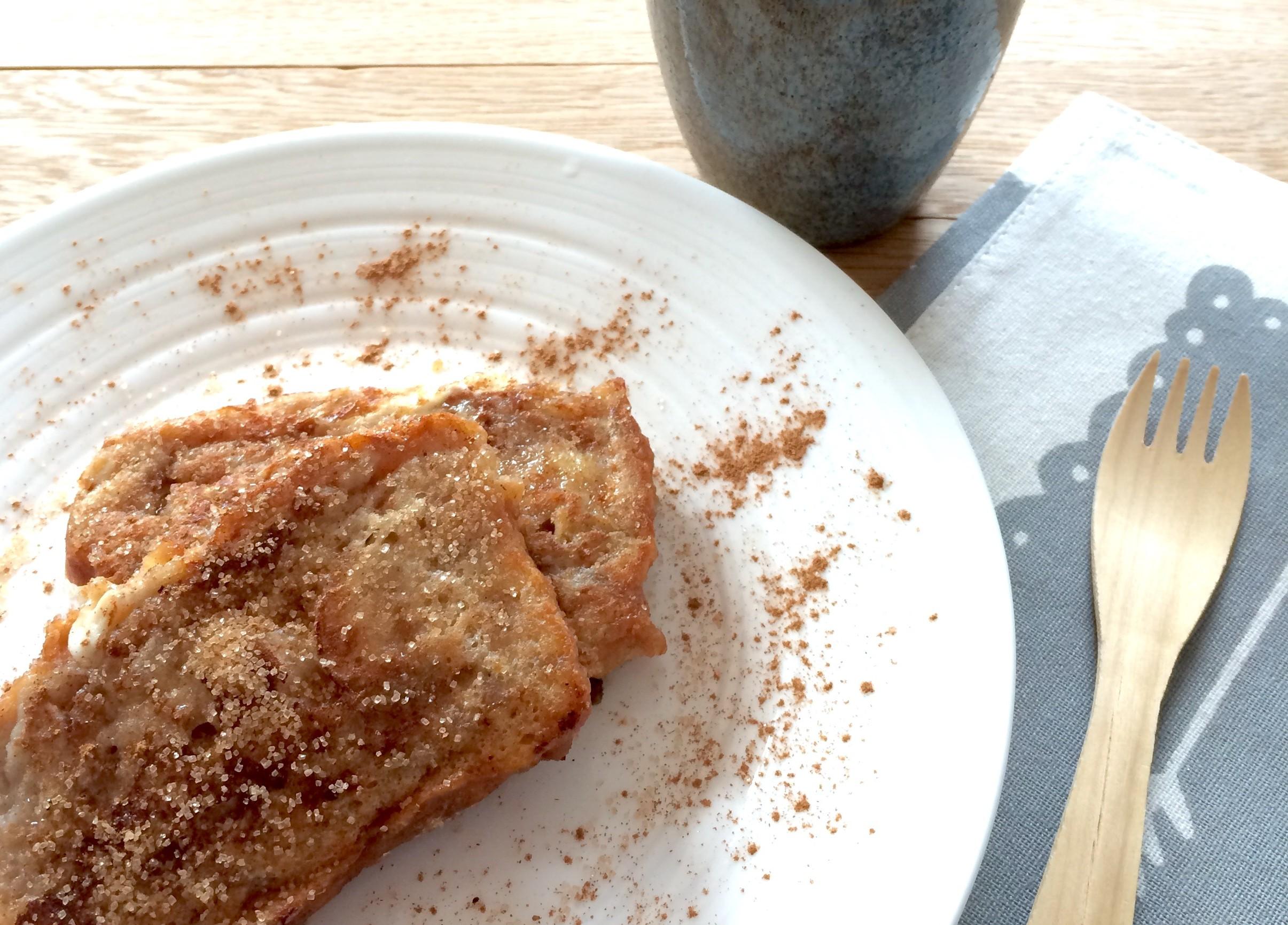 wentelteefjes van suikerbrood