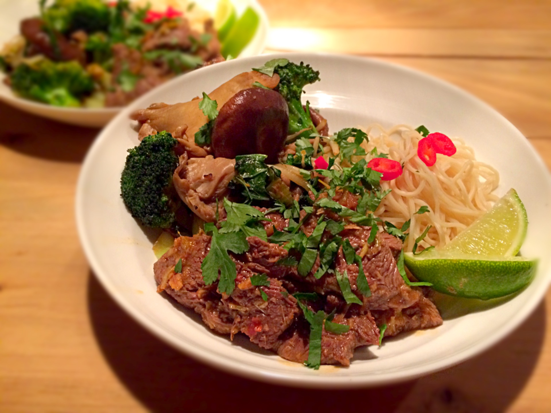 thaise biefstukreepjes