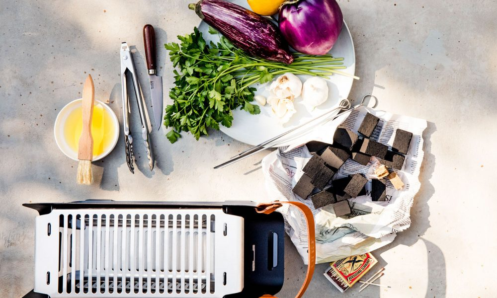 aubergine grillen
